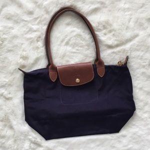 •ACCEPTING OFFER Longchamp purple Le pledge tot